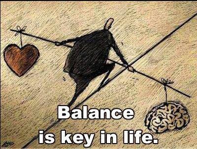 balance heart mind
